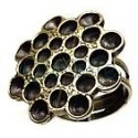 Ring for 8 strass pp24 and 17 strass ss19