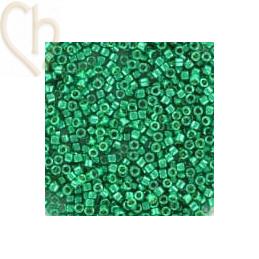 Galvanized Dark Dark Mint Green - Miyuki Delica 11/0 5 gr. DB2505