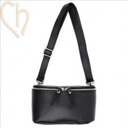Handbag Bumbag Leather Black