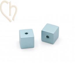 Aluminium annodised cube...