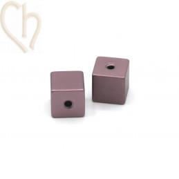 Aluminium anodized cube...