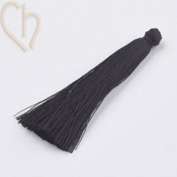 kwastje polyester 70mm zwart