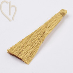 Tassel polyester 70mm Gold