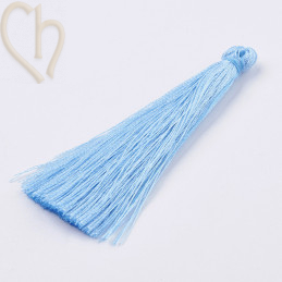 Tassel polyester 70mm Blue
