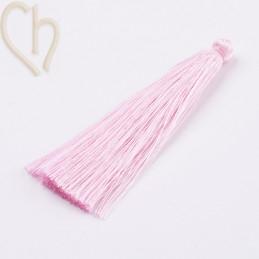 Tassel polyester 70mm Pink