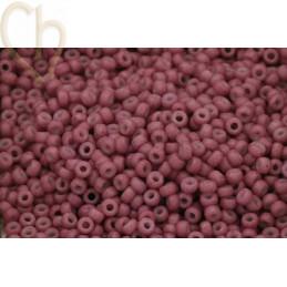 Rocaille 11/0 Miyuki Vintage Pink Opaque