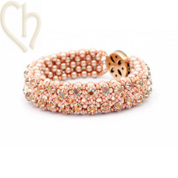 Kit bracelet Gaudy Salmon
