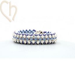 Kit bracelet Gaudy Light Blue