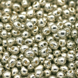 Drop gouttes perles Miyuki 3,4mm - DP-1051 Galvanized Silver