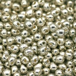 Drop kralen Miyuki 3,4mm - DP-1051 Galvanized Silver