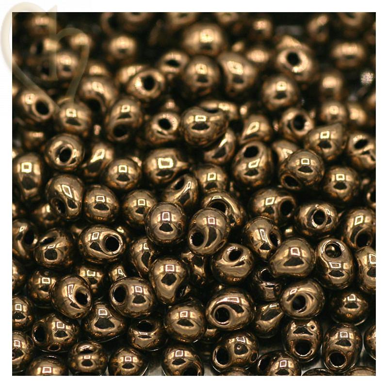 Drop gouttes perles Miyuki 3,4mm - DP-457 Bronze
