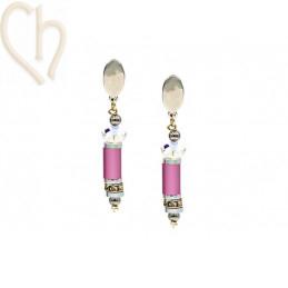 kit earrings with Aluminium...