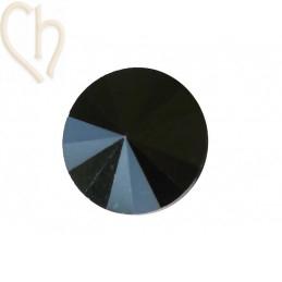 Rivoli 16mm 1122 Aurora Crystal - Hematite 1131