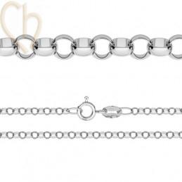 halsketting zilver .925...
