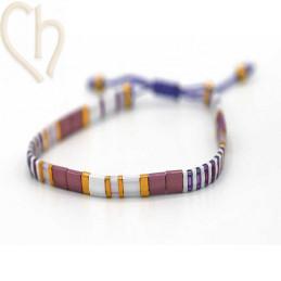 Kit bracelet with Miyuki...