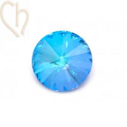 Rivoli 14mm 1122 Aurora Crystal - Ocean Delite
