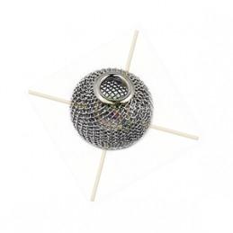 Boule metal filligran 10mm