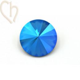 Rivoli 14mm 1122 Aurora Crystal - Sapphire Shimmer