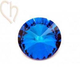 Rivoli 14mm 1122 Aurora Crystal - Bermuda Blue