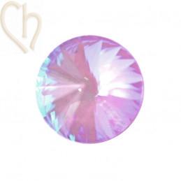 Rivoli 08mm 1122 Aurora Crystal - Lilac Delite