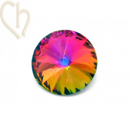 Rivoli 16mm 1122 Aurora Crystal - Volcano