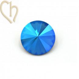 Rivoli 08mm 1122 Aurora Crystal - Sapphire Shimmer