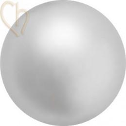 Preciosa 4mm LIGHT GREY Round Nacré Pearl Maxima
