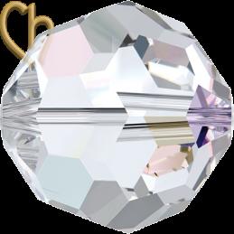 Preciosa Crystal Round Bead 6mm Crystal AB