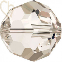 Preciosa Crystal Round Bead 6mm HONEY