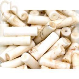 Tube 13*4mm natural stone - Howlite