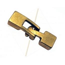 slot voor leder 5mm