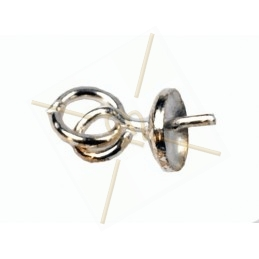 hangerbevestiging zilver