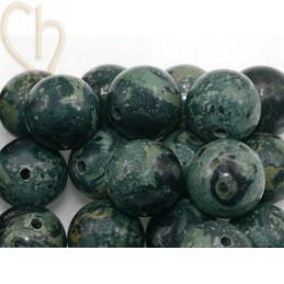 Gemstone round 12mm - Jaspe Kambaba