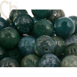 Gemstone round 10mm - Agate...