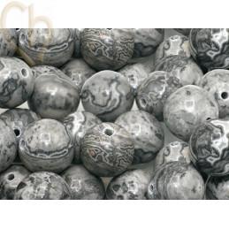 Natuursteen 12mm - Jaspe Crazy Grey