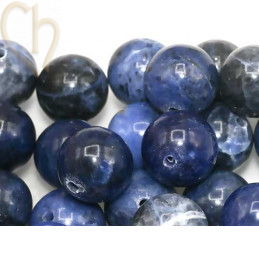 Gemstone round 12mm - Sodalite