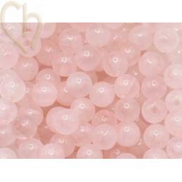 Gemstone 4mm - Quartz Rose
