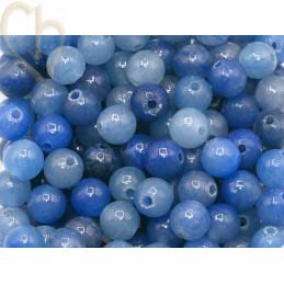 Natuursteen 4mm - Aventurine Blue