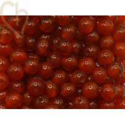 Gemstone round 4mm - Cornaline