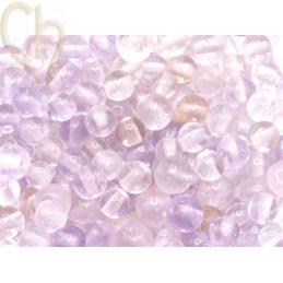 Gemstone round 4mm - Amethist Lavande