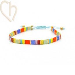 bracelet with Miyuki Tila