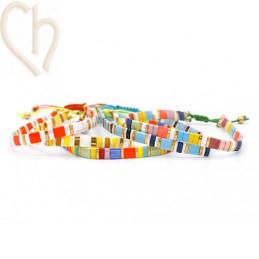 bracelets Miyuki perles