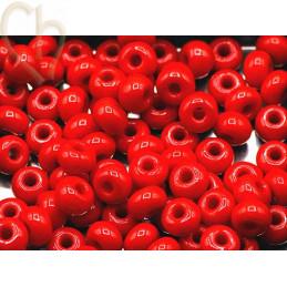 Seedbeads 4/0 Red