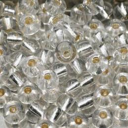 Rocaille 4/0 Cristal S/L