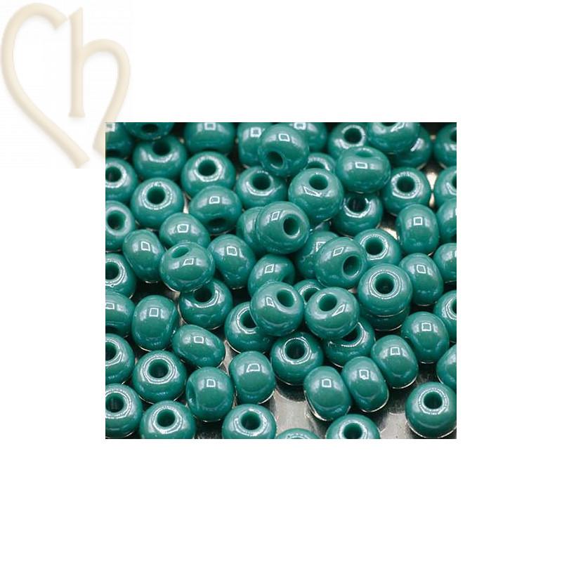 Seedbeads 4/0 Turquoise Opaque