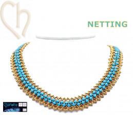 Kit Halsketting Netting -...