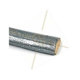 Regaliz zilver 6*10mm