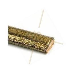 Regaliz cuir bronze 6*10mm