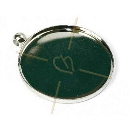 pendant for cabochon 35mm
