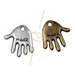 "pendant ""handmade"" 12mm"